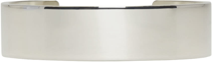 Image of Le Gramme Silver Polished Le 41 Grammes Cuff