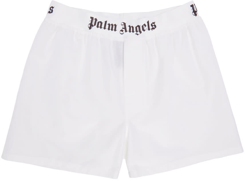 Palm Angels White Oxford Boxers
