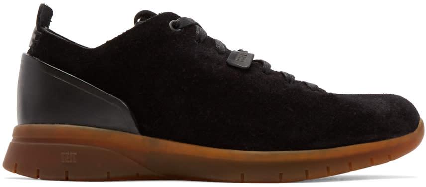 Feit Black Suede Biotrainer Sneakers