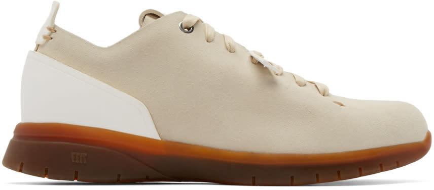 Feit Beige Suede Biotrainer Sneakers