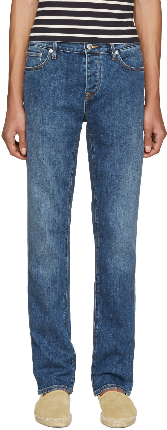 Burberry Brit Blue Straight Jeans