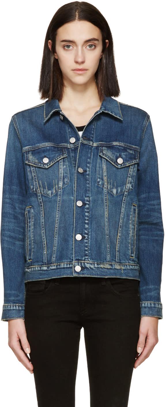 Amo Blue Pop Denim Jacket