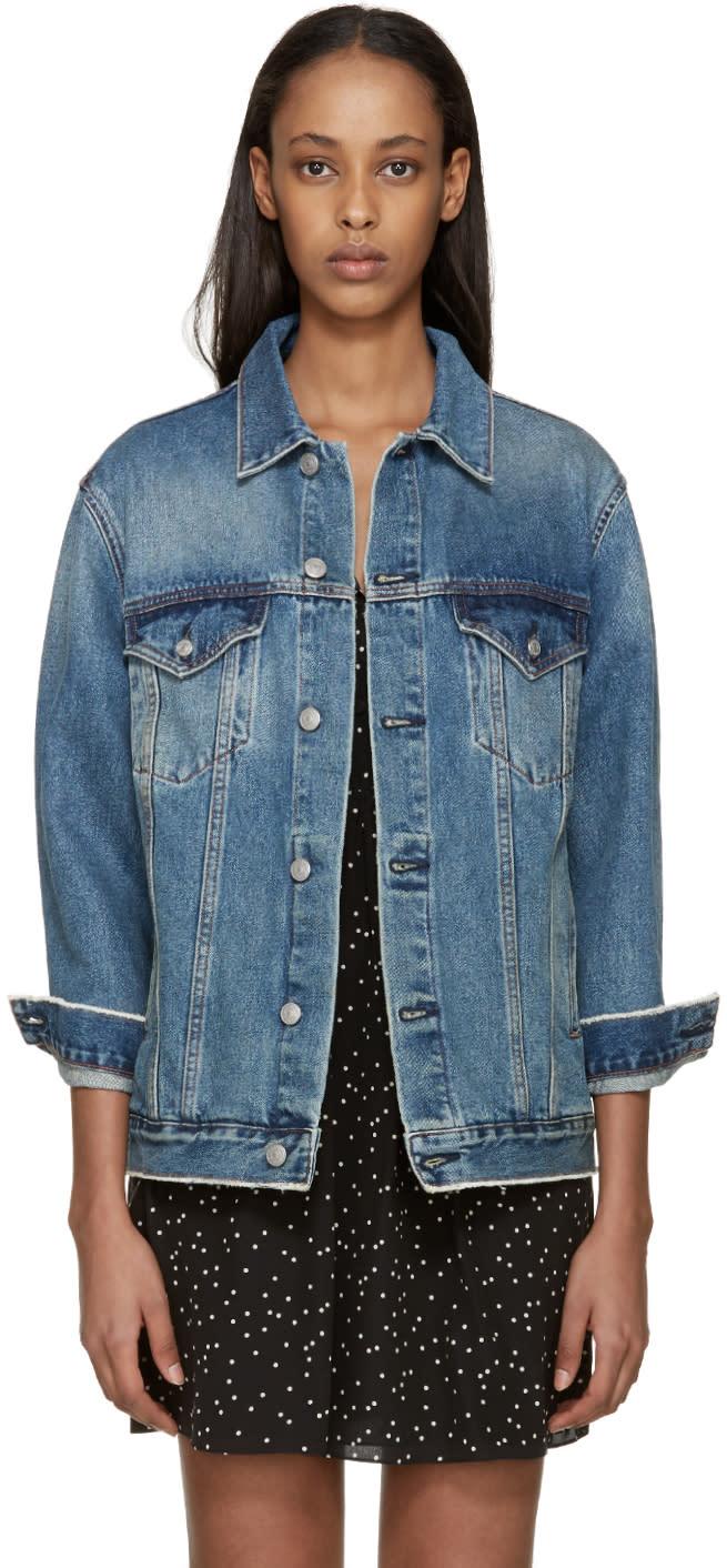 Earnest Sewn Blue Denim Cecil Jacket