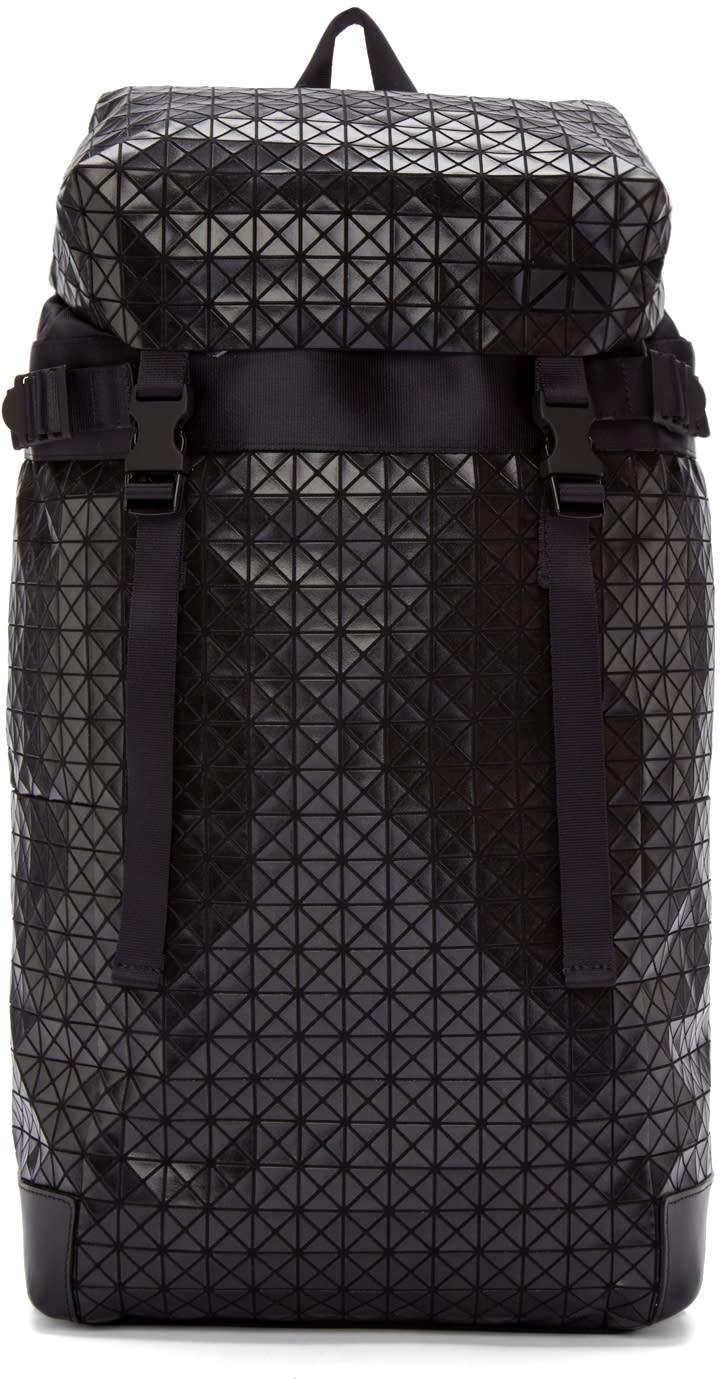 Bao Bao Issey Miyake Black Geometric Hiker Backpack