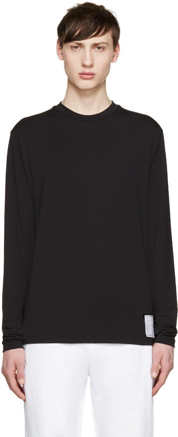 Satisfy Black Long Sleeve Packable T-shirt