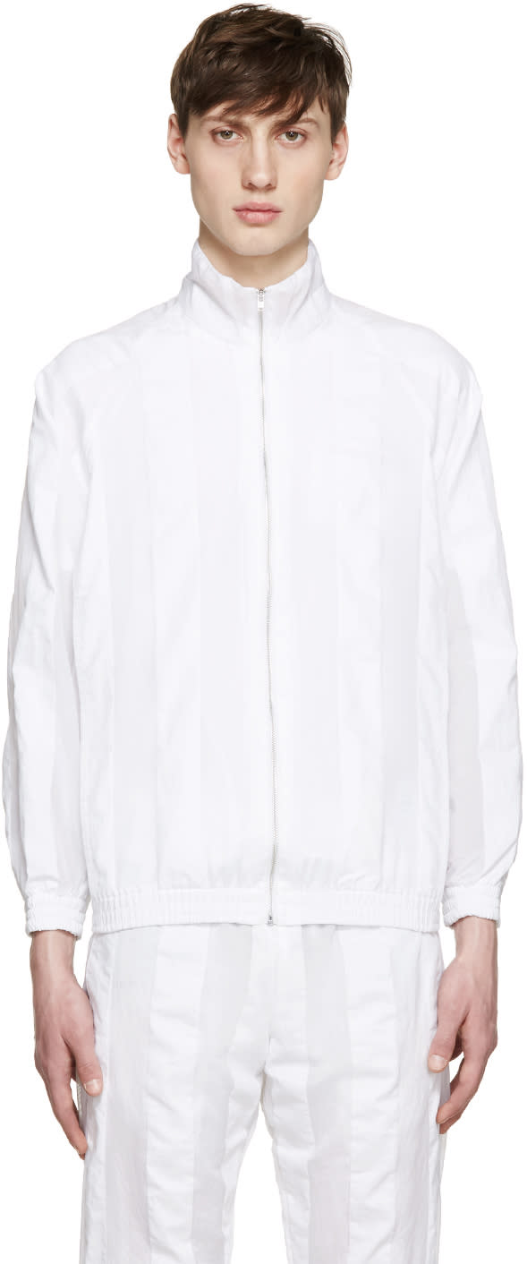 Cottweiler White Striped Robe Jacket