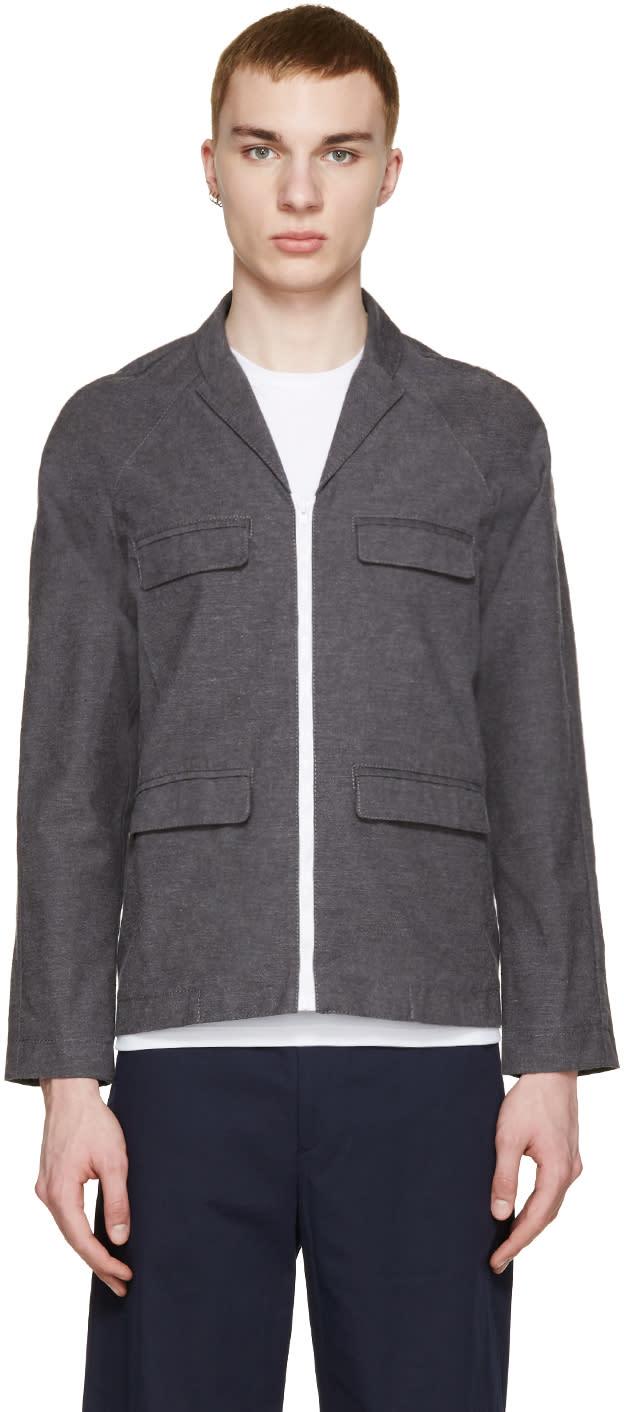 Image of Sunnei Grey Woven Jacket