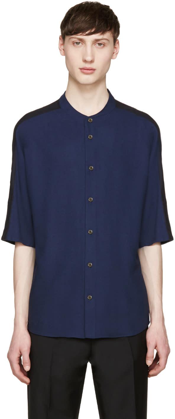 Stephan Schneider Navy Button T-shirt