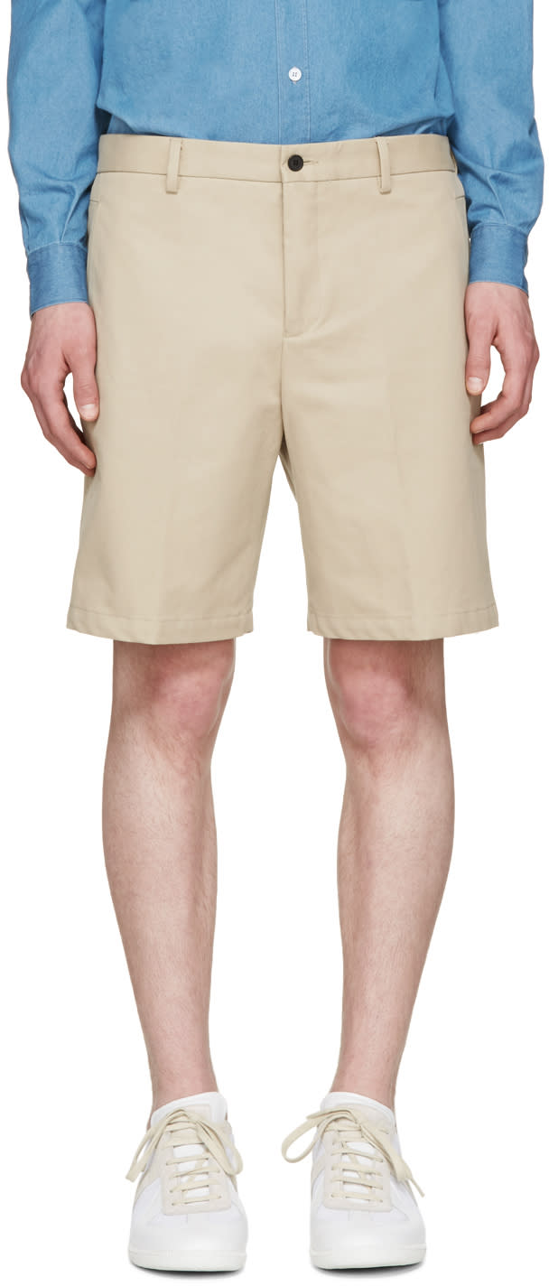 Editions MR Beige Chino Shorts