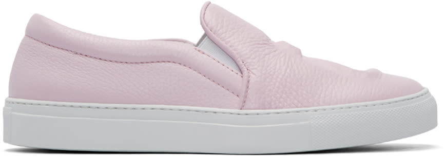 Joshua Sanders Pink 23 Slip-on Sneakers