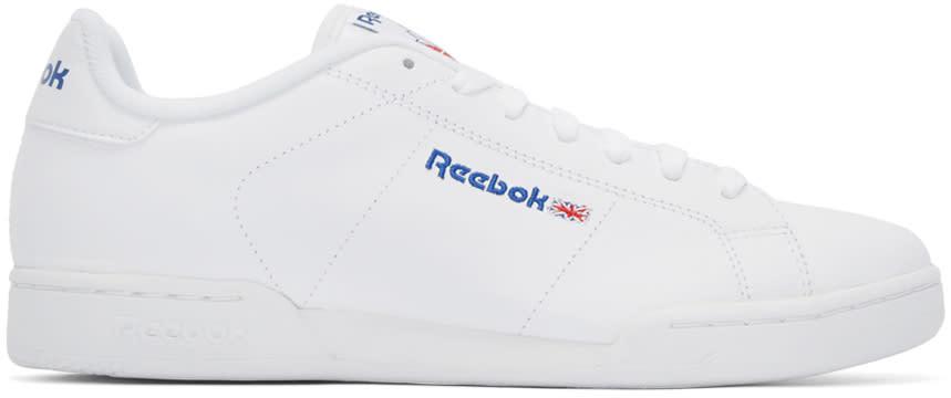 Reebok Classics ホワイト Npc Ii ロートップ スニーカー
