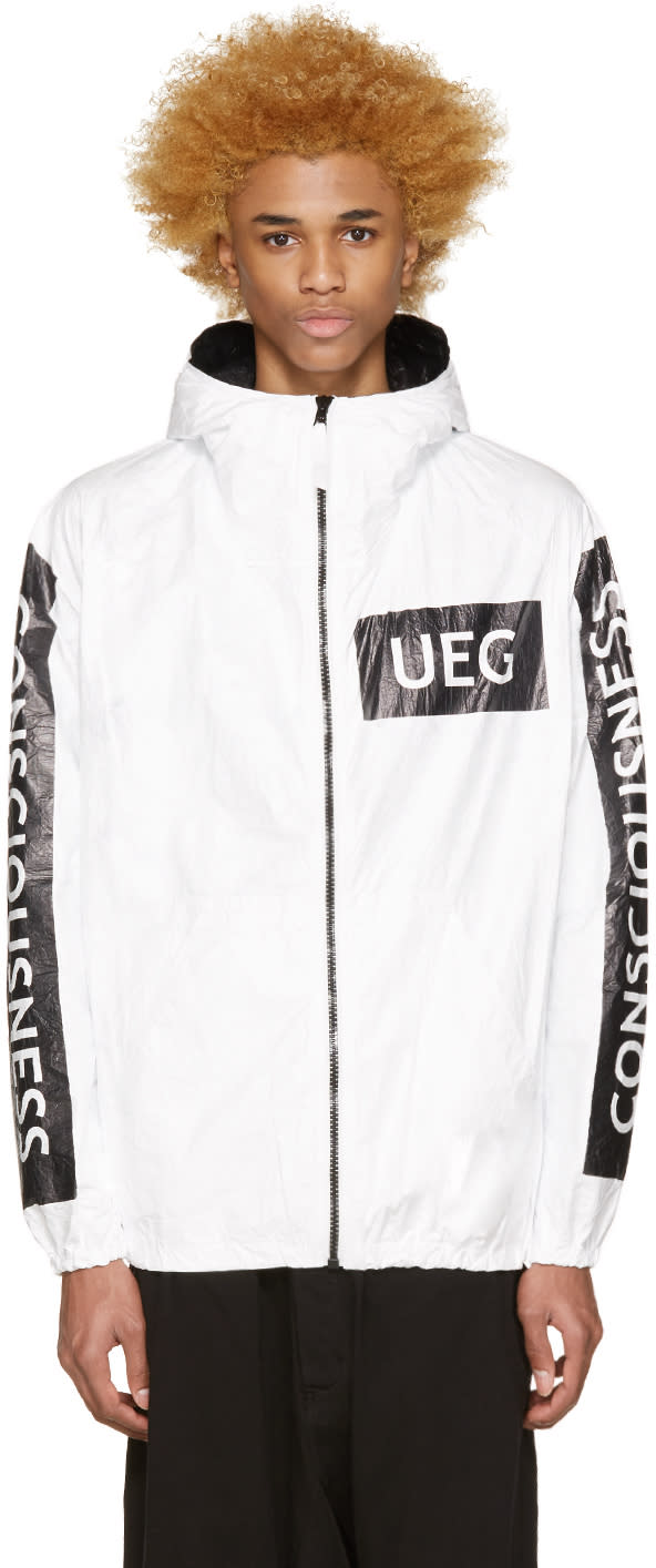Ueg White Consciousness Jacket
