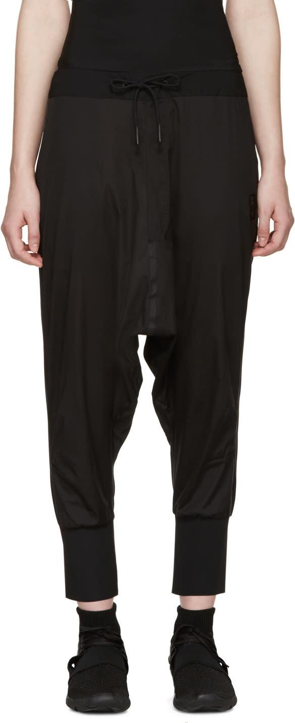 Y-3 Sport Black Sarouel-style Lounge Pants