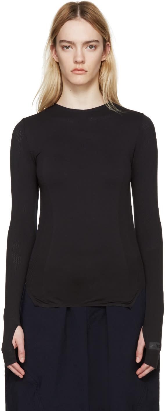Y-3 Sport Black Knit Pullover