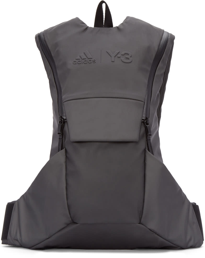 Y-3 Sport Grey Reflective Backpack
