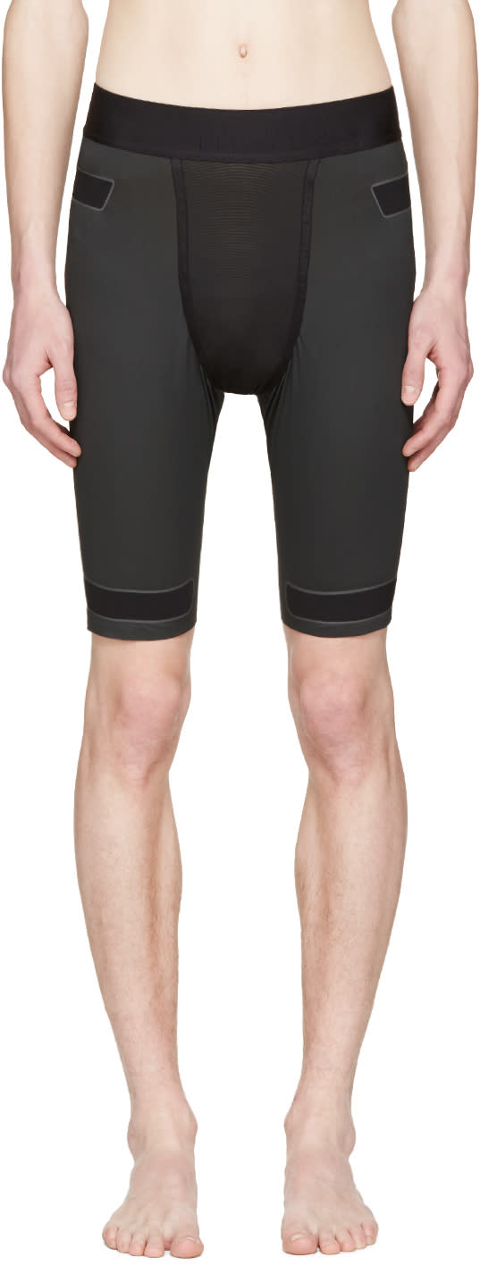 Y-3 Sport Black Techfit Shorts