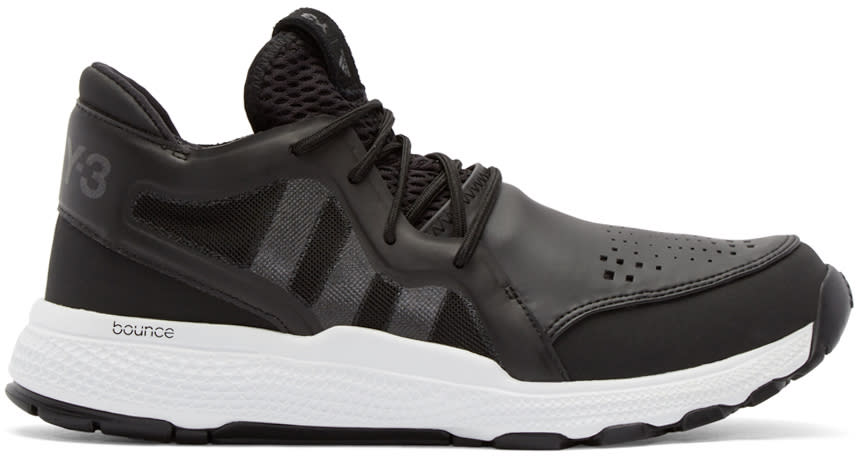Y-3 Sport Black On Court Sneakers