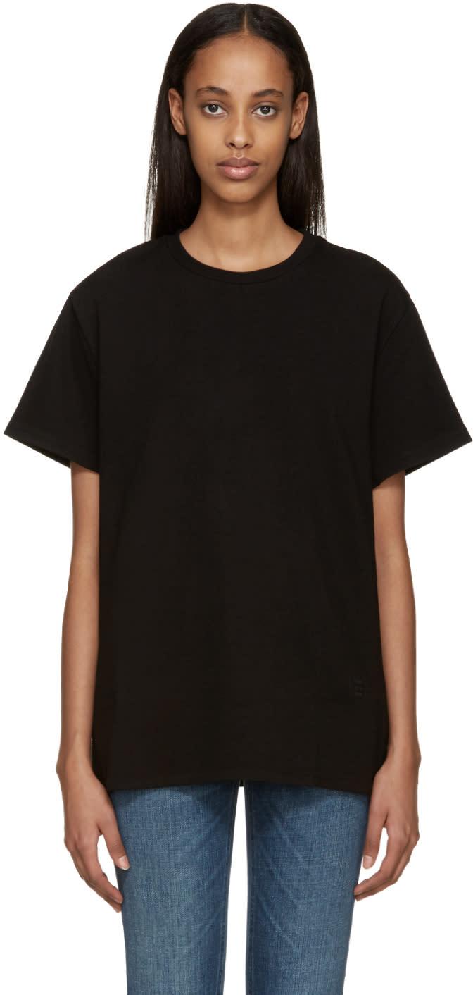 Toteme Black Amsterdam T-shirt