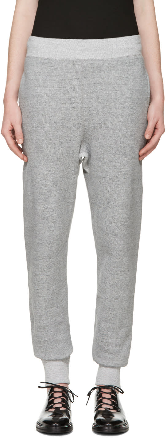 Hyke Grey Sarouel Lounge Pants