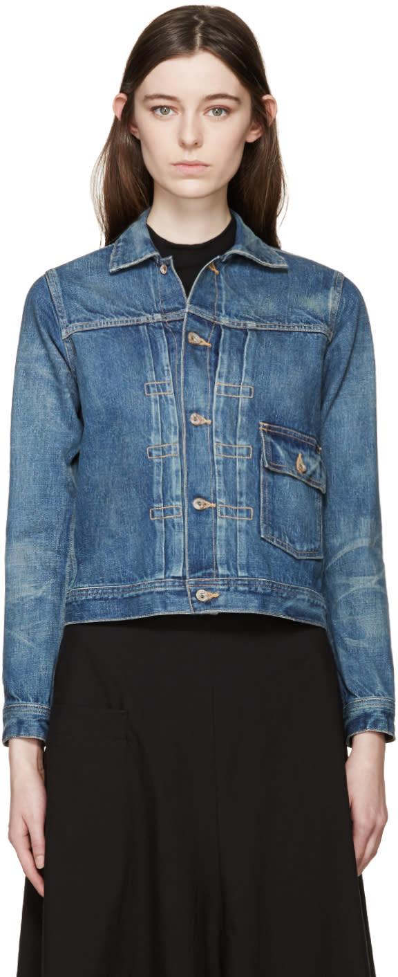 Chimala Blue Selvedge Denim Jacket