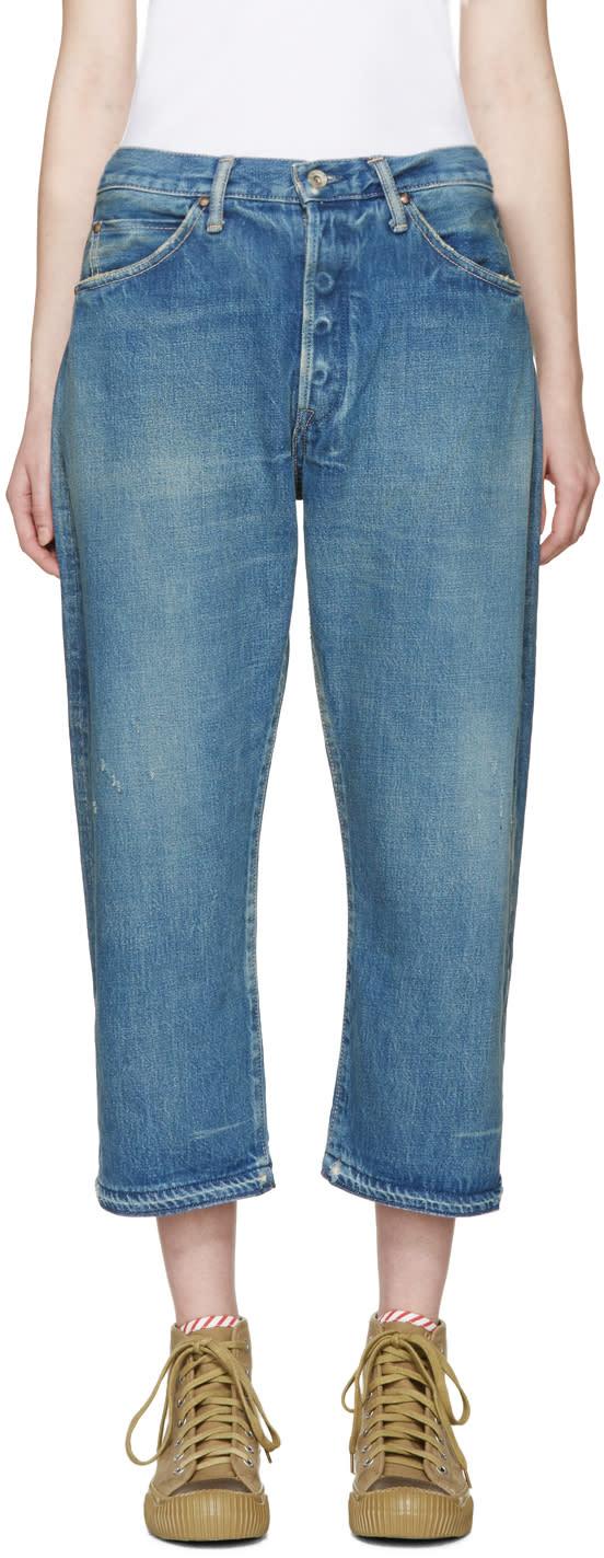 Chimala Blue Vintage Baggy Jeans