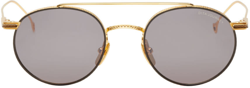 Dita Gold 18k Journey Sunglasses