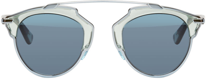 Dior Silver So Real Sunglasses