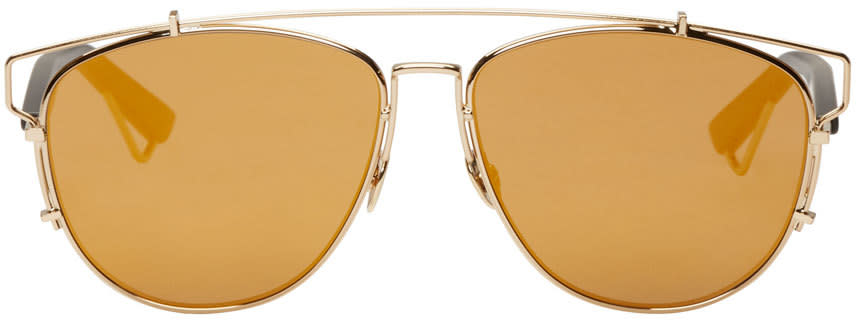 Dior Gold Technologic Sunglasses at ssense.com men and women fashion