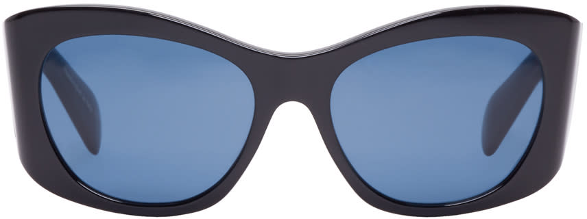 Oliver Peoples The Row Black Acetate Bother Me Sunglasses