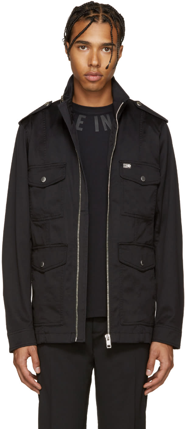 Diesel Black J-dirt Jacket