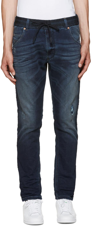 Diesel Blue Krookley Bn-ne Jogg Jeans