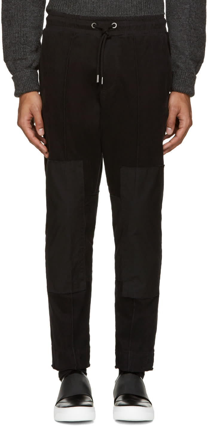 Diesel Black P-britpop Lounge Pants