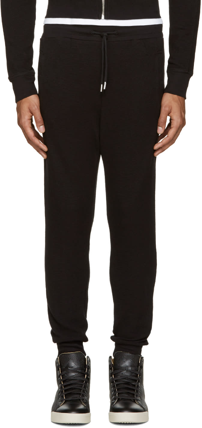 Diesel Black P-buttery Lounge Pants