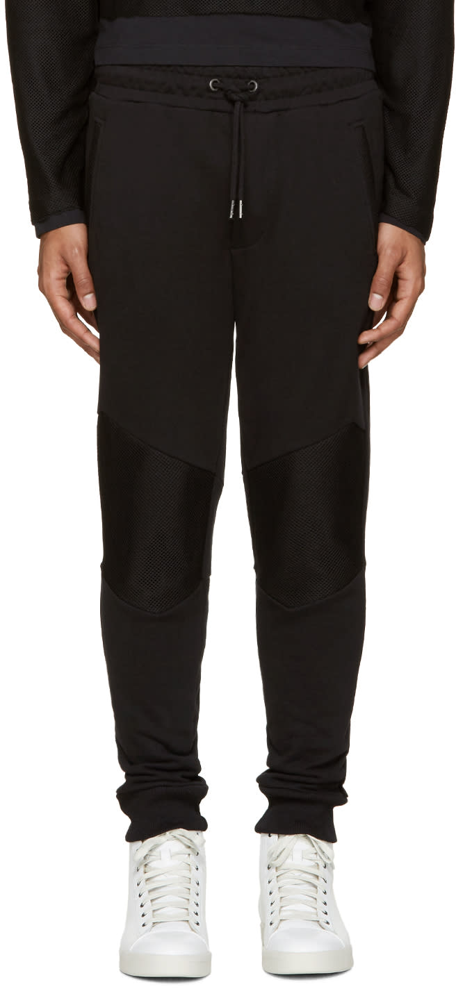 Diesel Black P-soul Lounge Pants