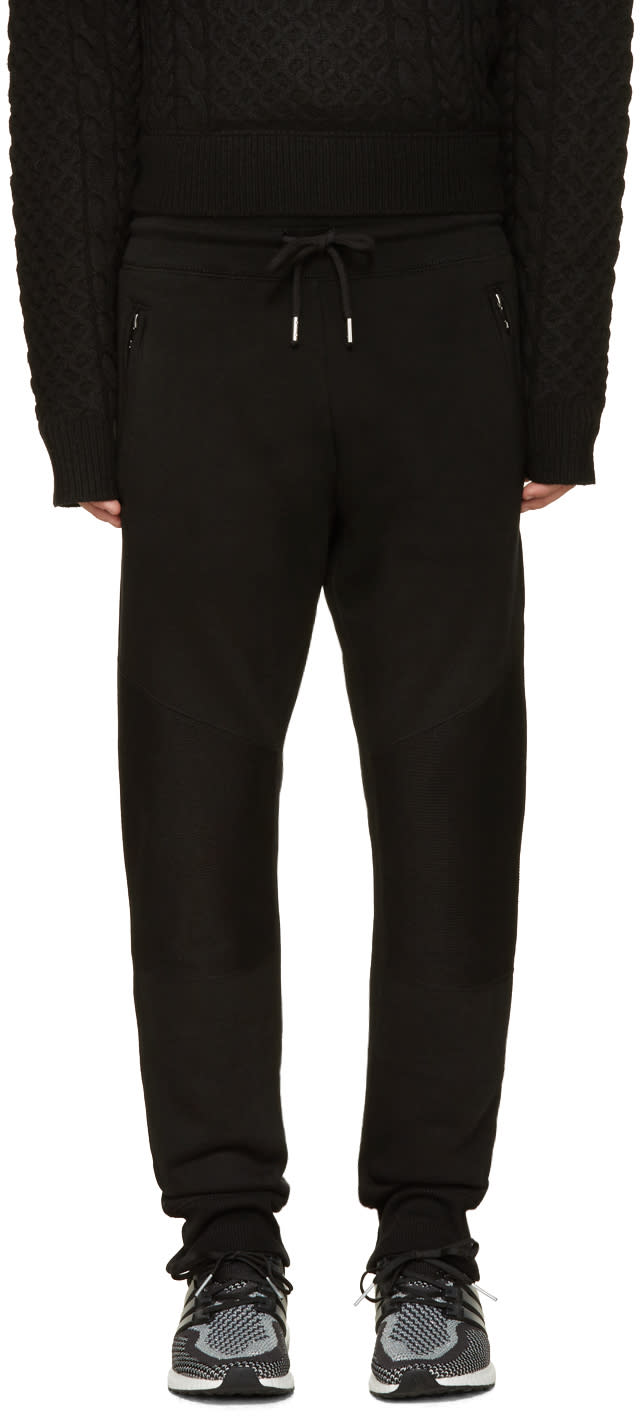 Diesel Black P-work Lounge Pants