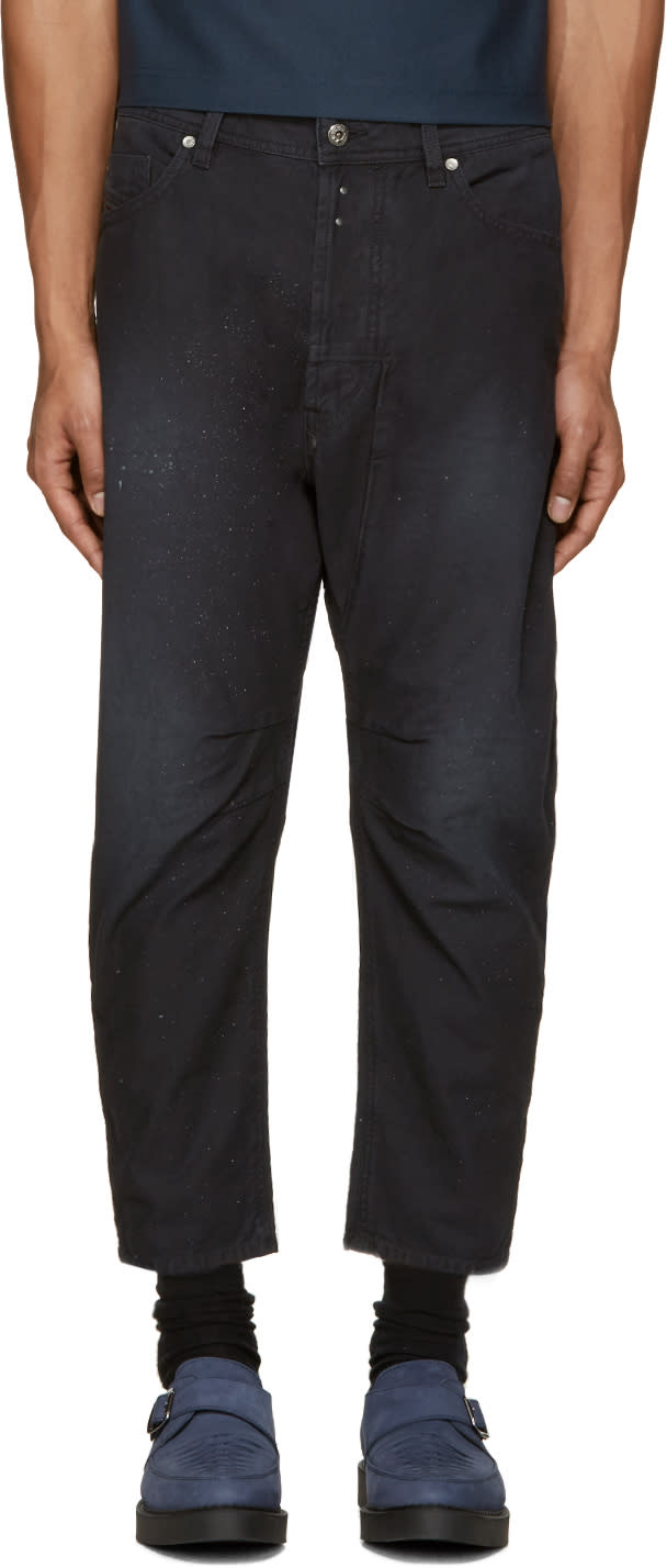 Diesel Black Narrot-a Trousers