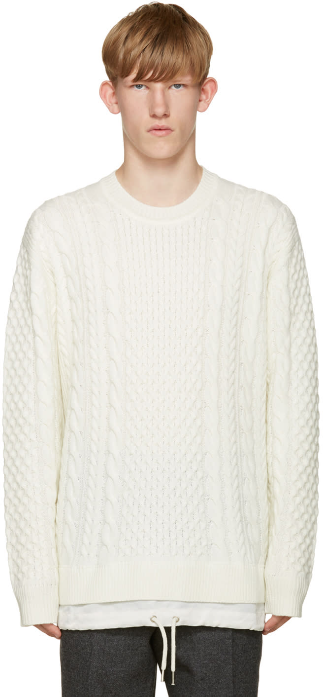 Diesel Off-white K-pigris Sweater