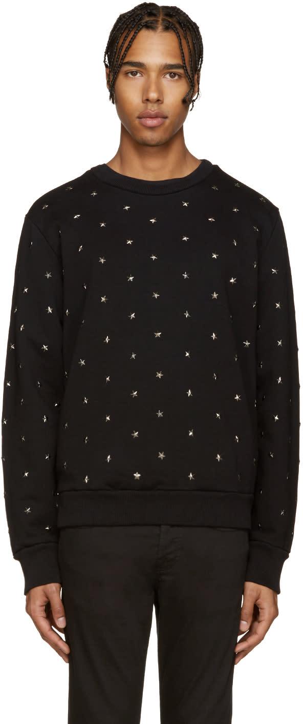 Diesel Black Stars-ed Sweatshirt