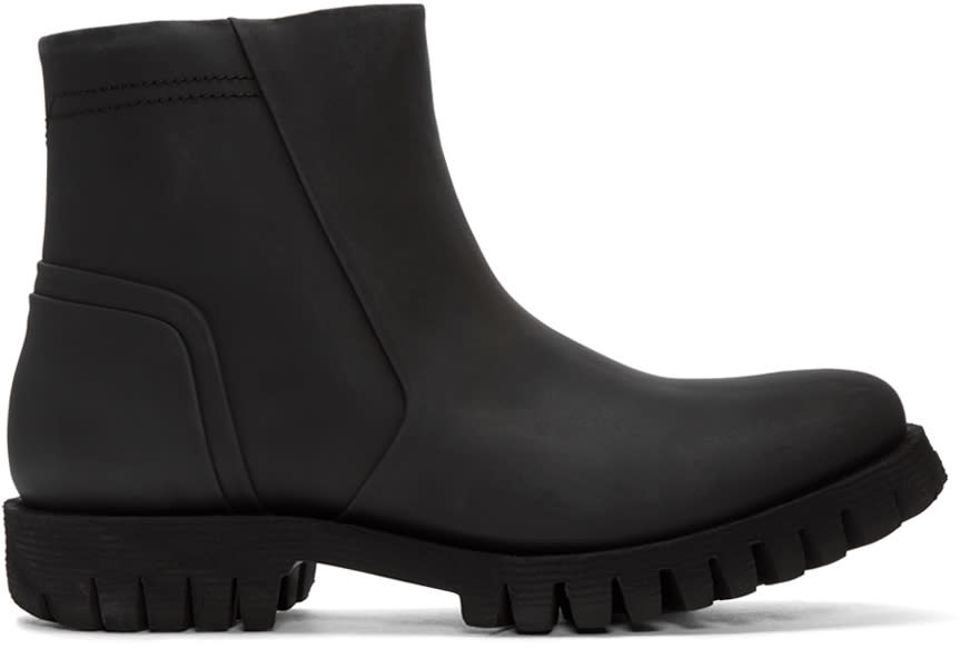 Diesel Black D-sherlock Boots