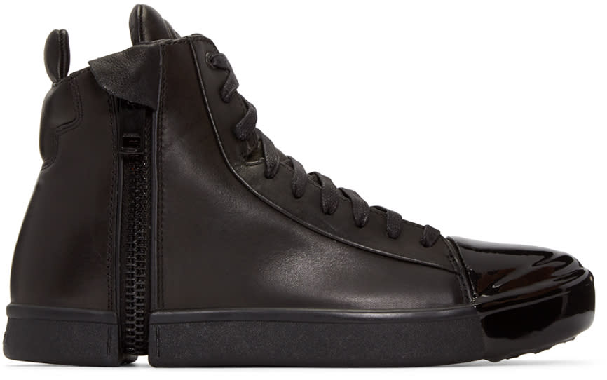 Diesel Black S-nentish Special High-top Sneakers