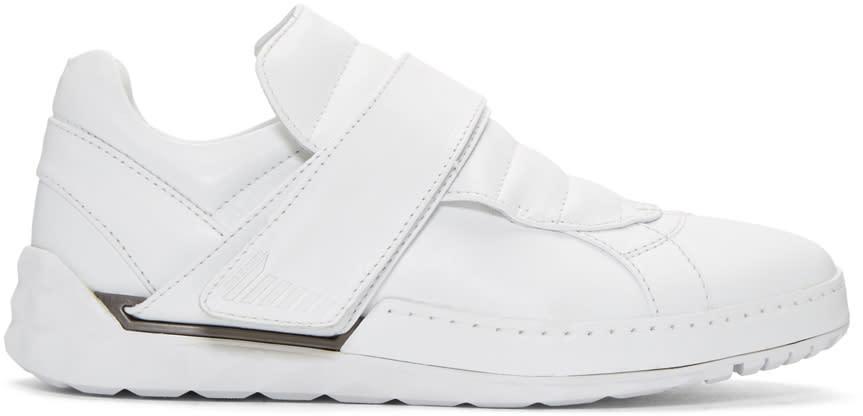 Diesel White S-studzzer Sneakers