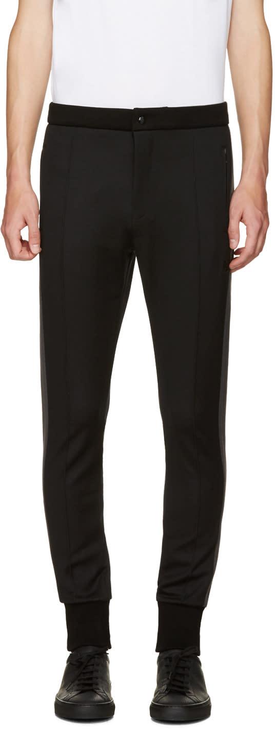 Dolce and Gabbana Black Cuffed Lounge Pants