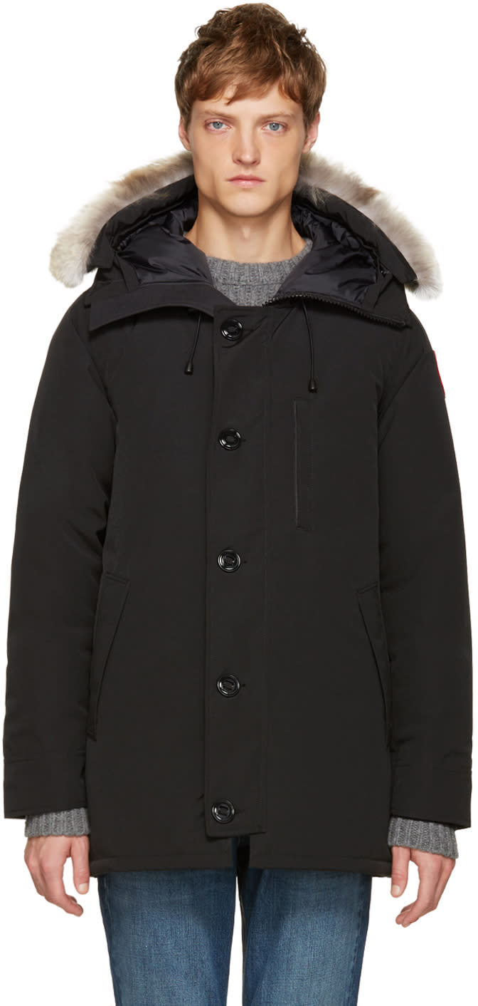 Image of Canada Goose Black Down Chateau Parka