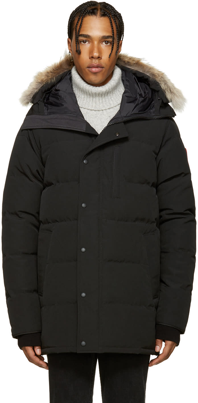 Image of Canada Goose Black Down and Fur Carson Parka