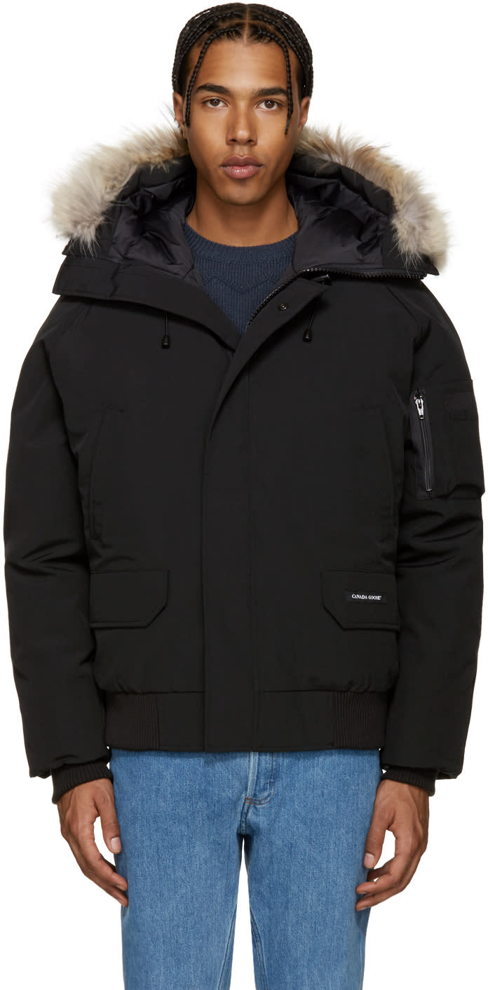 Image of Canada Goose Black Down Chilliwack Coat