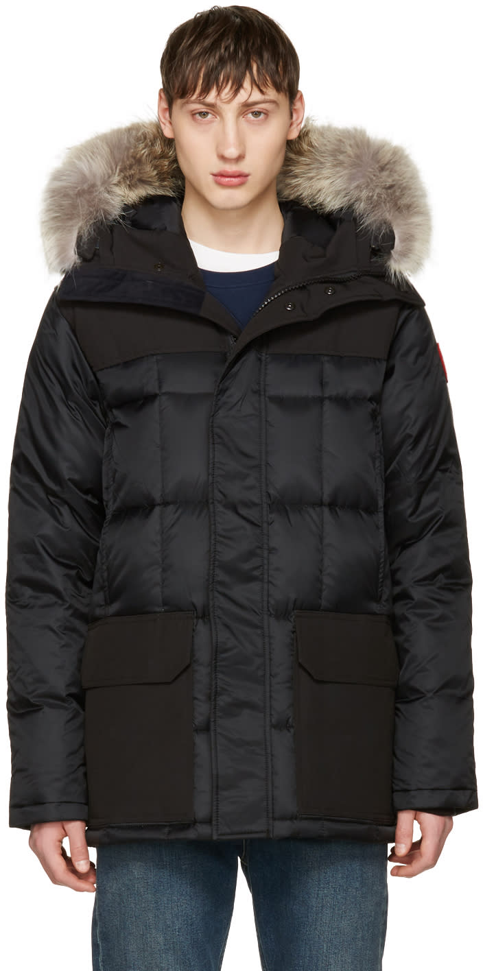 Canada Goose Black Down Callaghan Jacket