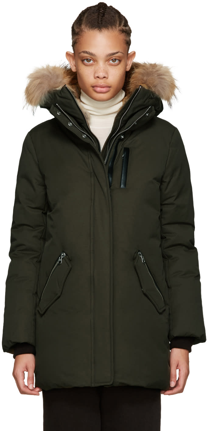 Mackage Green Down Marla Parka