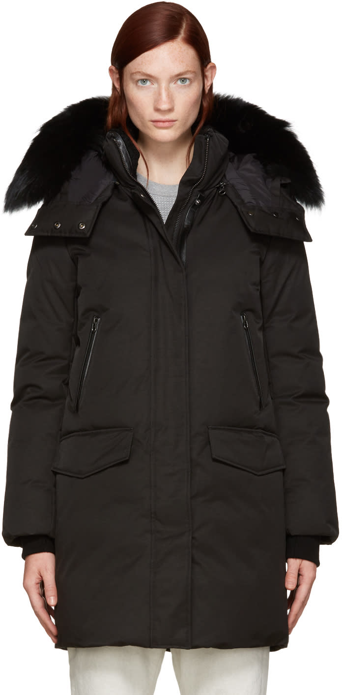 Mackage Black Down Juana Down Coat