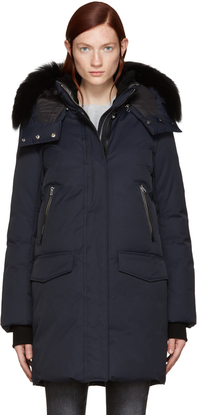 Mackage Navy Down Juana Coat
