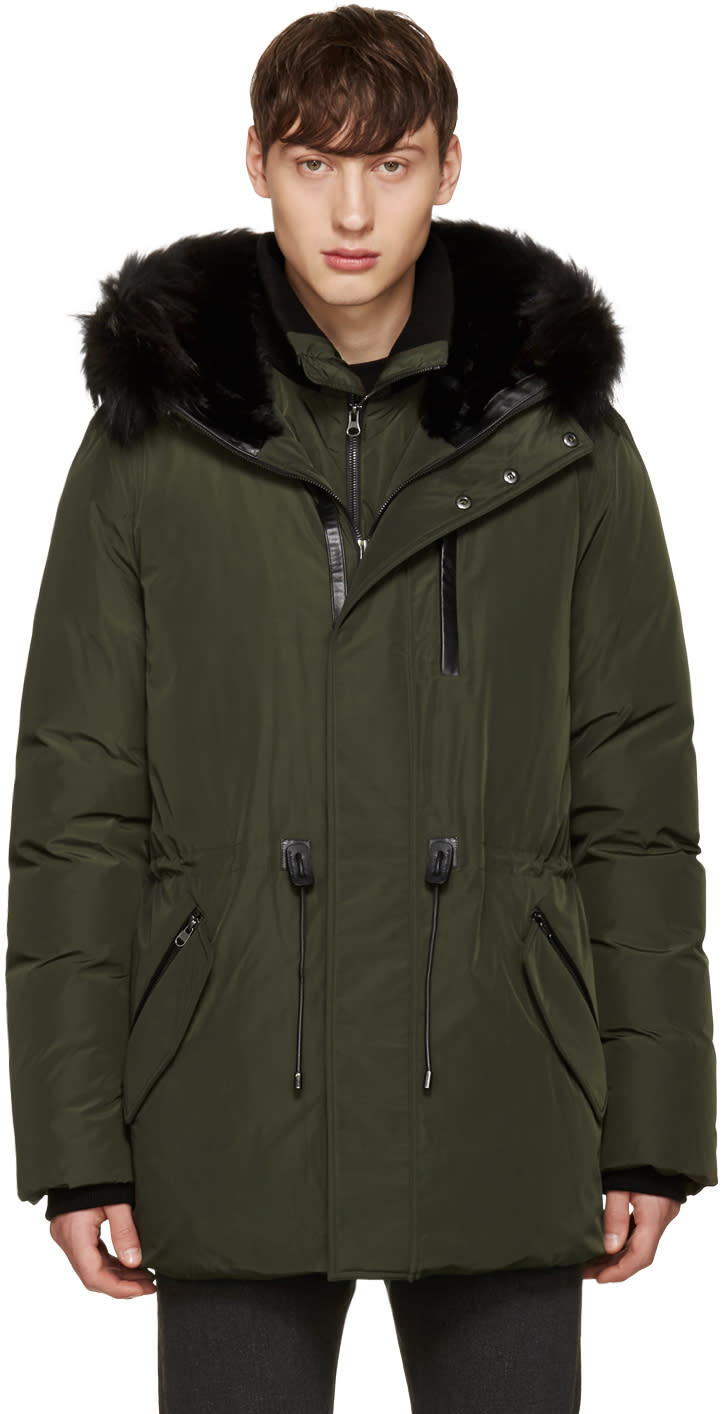 Mackage Green Down Brodny Coat